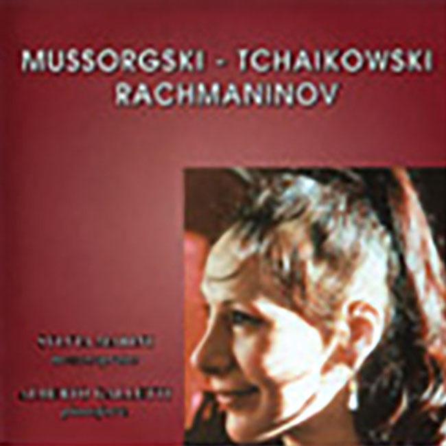 Mussorgsky - Tchaikovsky - Rakhmaninov - CD - Sylvia Vadimova